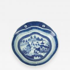 Chinese Export Porcelain Shrimp Dish - 791184