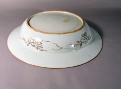 Chinese Porcelain 18th Century Chinese Export Famille Rose Porcelain Large Basin - 1618647