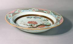 Chinese Porcelain 18th Century Chinese Export Famille Rose Porcelain Large Basin - 1618651