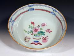 Chinese Porcelain Chinese Export Famille Rose Porcelain Bowl with Chinese Furniture - 1618570