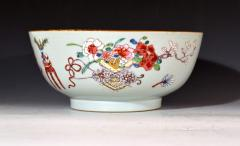 Chinese Porcelain Chinese Export Famille Rose Porcelain Bowl with Chinese Furniture - 1618571