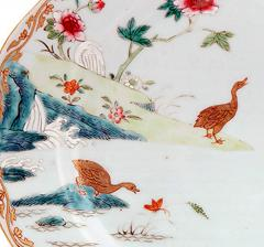 Chinese Porcelain Chinese Export Porcelain Famille Rose Dish with Boy on Water Buffalo - 1618629