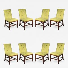 Chippendale Style Eight Scottish Chippendale Dining Chairs - 1029902