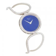 Chopard Chopard Geneva Late 20th Century Diamond Lapis Lazuli and Gold Watch - 724440