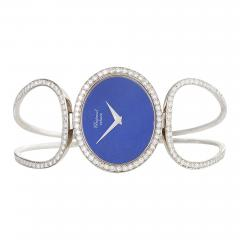 Chopard Chopard Geneva Late 20th Century Diamond Lapis Lazuli and Gold Watch - 725506