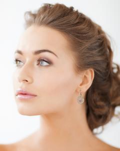 Chopard Chopard Happy Diamond Rose Gold Drop Dangle Diamond Earrings - 529454