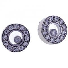 Chopard Chopard Happy Diamond Round Earring - 1011986