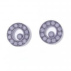 Chopard Chopard Happy Diamond Round Earring - 1012578