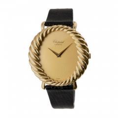 Chopard Chopard Ladys Yellow Gold Twisted Bezel Wristwatch Circa 1970s - 181470
