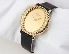 Chopard Chopard Ladys Yellow Gold Twisted Bezel Wristwatch Circa 1970s - 181471