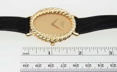 Chopard Chopard Ladys Yellow Gold Twisted Bezel Wristwatch Circa 1970s - 181475