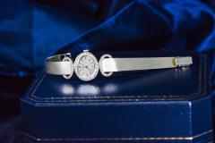 Chopard Elegant 1970s Chopard 18 Karat Gold Diamond Set Bracelet Wristwatch - 1191110