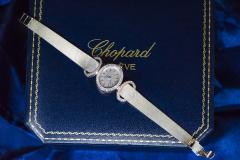 Chopard Elegant 1970s Chopard 18 Karat Gold Diamond Set Bracelet Wristwatch - 1191111