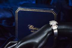 Chopard Elegant 1970s Chopard 18 Karat Gold Diamond Set Bracelet Wristwatch - 1191112