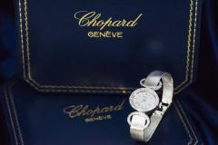 Chopard Elegant 1970s Chopard 18 Karat Gold Diamond Set Bracelet Wristwatch - 1191115