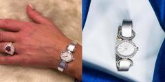 Chopard Elegant 1970s Chopard 18 Karat Gold Diamond Set Bracelet Wristwatch - 1191117