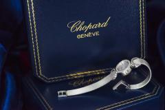 Chopard Elegant 1970s Chopard 18 Karat Gold Diamond Set Bracelet Wristwatch - 1191119