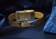 Chopard Rare Chopard Kutchinsky 1970s 18kt YG Lapis Pave Diamond Set Dial Wristwatch - 434891