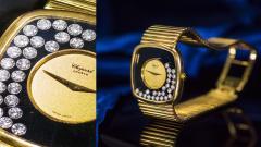 Chopard Special Order 1970s Chopard James Bond Happy Diamond 18kt Bracelet Wristwatch - 1206764