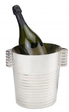 Christofle Christofle Luc Lanel Normandie Art Deco Champagne bucket - 1370464