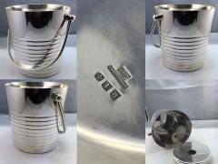Christofle Christofle Luc Lanel Normandie Art Deco Ondulations Ice bucket - 1370453