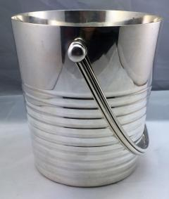 Christofle Christofle Luc Lanel Normandie Art Deco Ondulations Ice bucket - 1370454