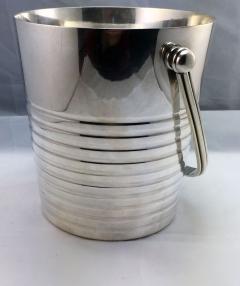 Christofle Christofle Luc Lanel Normandie Art Deco Ondulations Ice bucket - 1370455