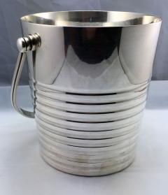 Christofle Christofle Luc Lanel Normandie Art Deco Ondulations Ice bucket - 1370456