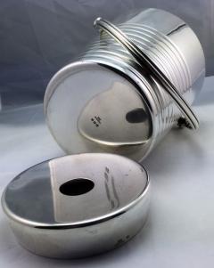 Christofle Christofle Luc Lanel Normandie Art Deco Ondulations Ice bucket - 1370457