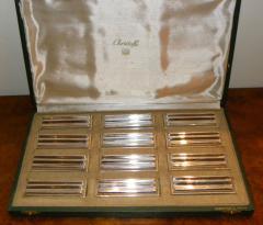 Christofle Christofle Original Art Deco Knife Rests - 1370445