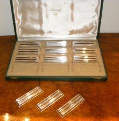 Christofle Christofle Original Art Deco Knife Rests - 1370448