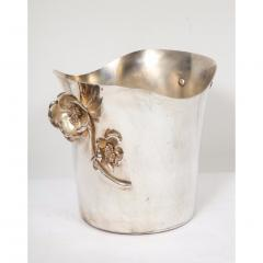 Christofle Christofle Paris Silver Plated Anemone Champagne Bucket Wine Cooler - 1111828