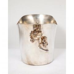 Christofle Christofle Paris Silver Plated Anemone Champagne Bucket Wine Cooler - 1111829