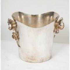 Christofle Christofle Paris Silver Plated Anemone Champagne Bucket Wine Cooler - 1111831