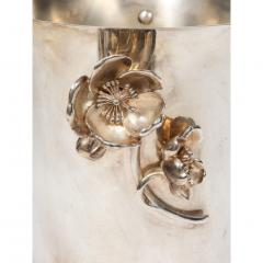 Christofle Christofle Paris Silver Plated Anemone Champagne Bucket Wine Cooler - 1111832