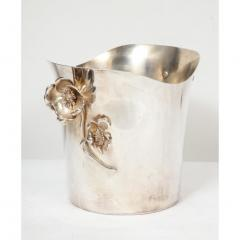 Christofle Christofle Paris Silver Plated Anemone Champagne Bucket Wine Cooler - 1111833
