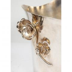 Christofle Christofle Paris Silver Plated Anemone Champagne Bucket Wine Cooler - 1111834