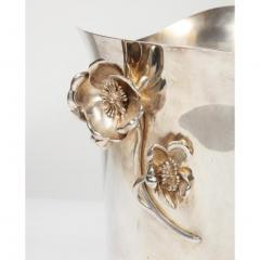 Christofle Christofle Paris Silver Plated Anemone Champagne Bucket Wine Cooler - 1111835