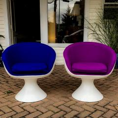 Chromcraft Chromcraft Fiberglass Swivel Chairs - 721626