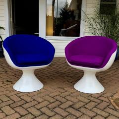 Chromcraft Chromcraft Fiberglass Swivel Chairs - 721627