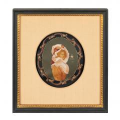 Colot Miniature portrait on vellum - 1725525