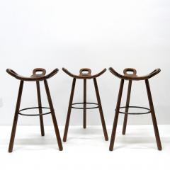 Confonorm Brutalist Marbella Bar Stools by Confonorm 1970 - 1038737