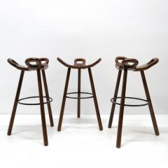 Confonorm Brutalist Marbella Bar Stools by Confonorm 1970 - 1038738