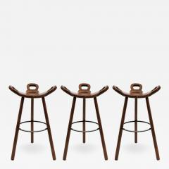 Confonorm Brutalist Marbella Bar Stools by Confonorm 1970 - 1112229
