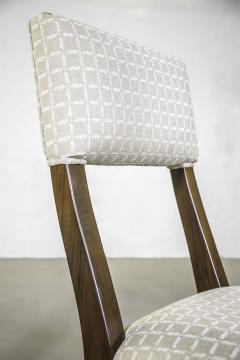 Constantini High Back Dining Chair in Argentine Rosewood and Fabric from Costantini Luca - 1966107
