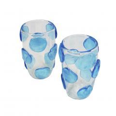 Constantini Pair of Mid Century Modern Costantini Murano Glass Italian Vases - 1667126
