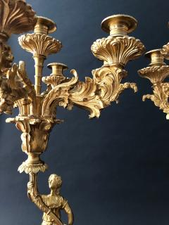Cornelius and Company A Pair of Classical Candelabra - 1334256