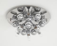Cosack Leuchten Pair of 1970s Chrome Sputnik Lights - 998285