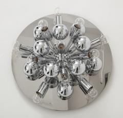 Cosack Leuchten Pair of 1970s Chrome Sputnik Lights - 998288