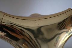 Cosack Leuchten Rare Large Gemini Flush Mount Ceiling or Wall Lamp Germany 1960s - 1833256